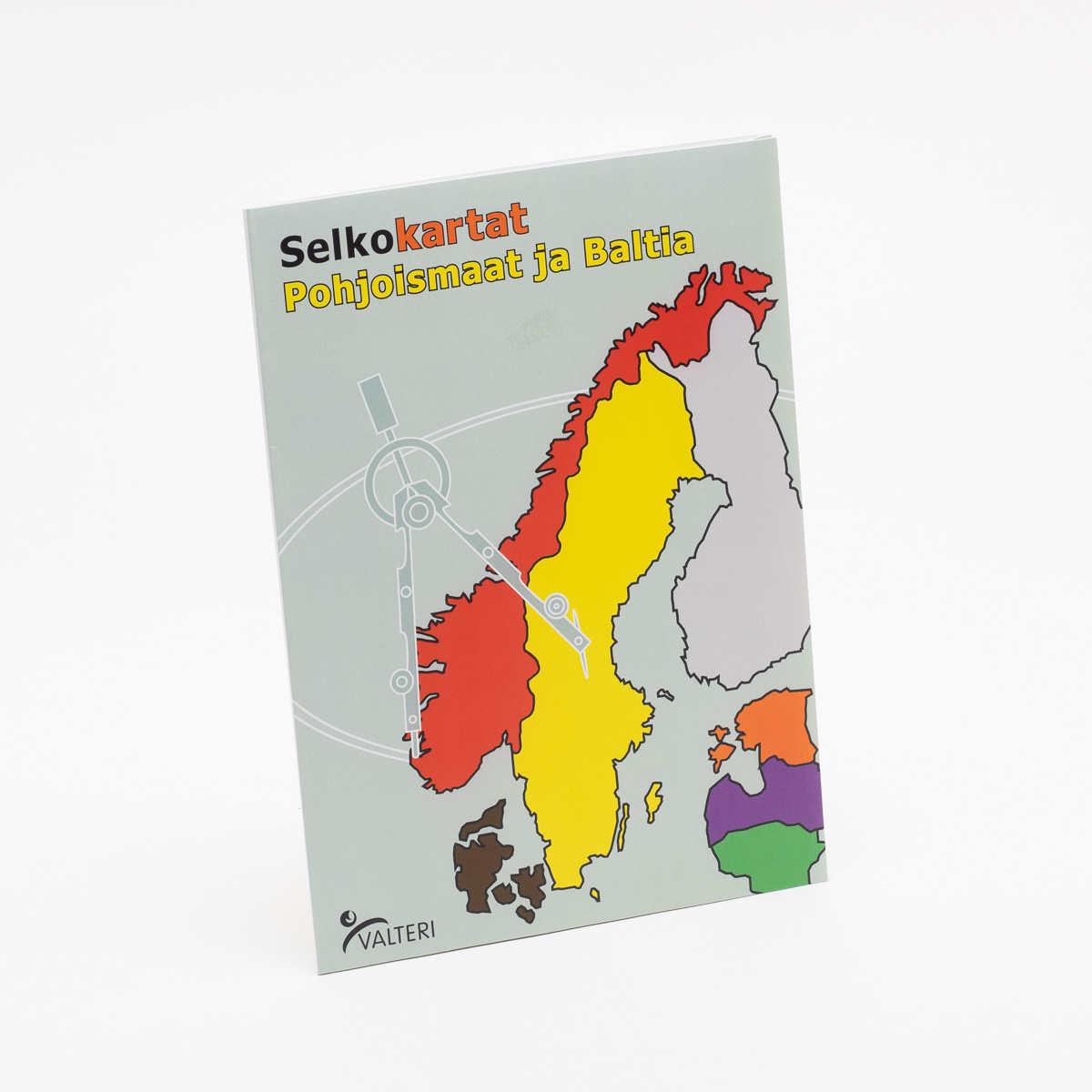 Selkokartat Pohjoismaat Ja Baltia Valteri