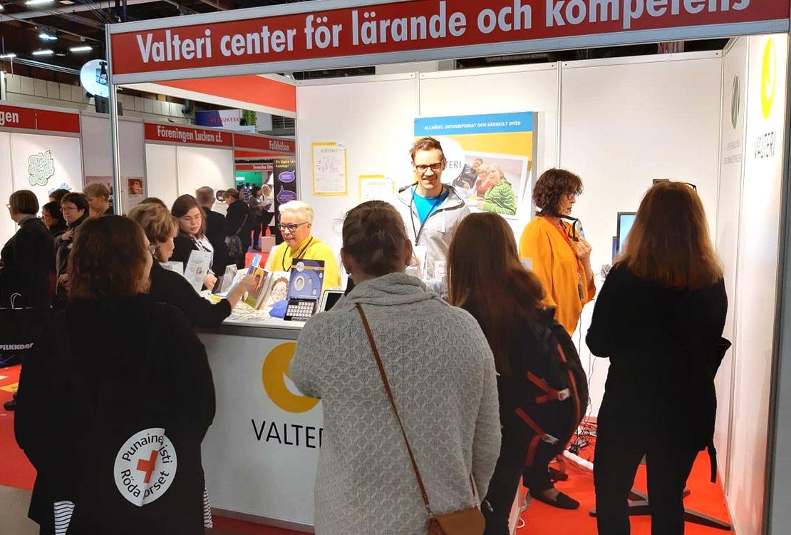 Valteris monter i Svenska Hörnan på Educa.