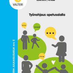 Työnohjaus opetusalalla -kirjan kansi