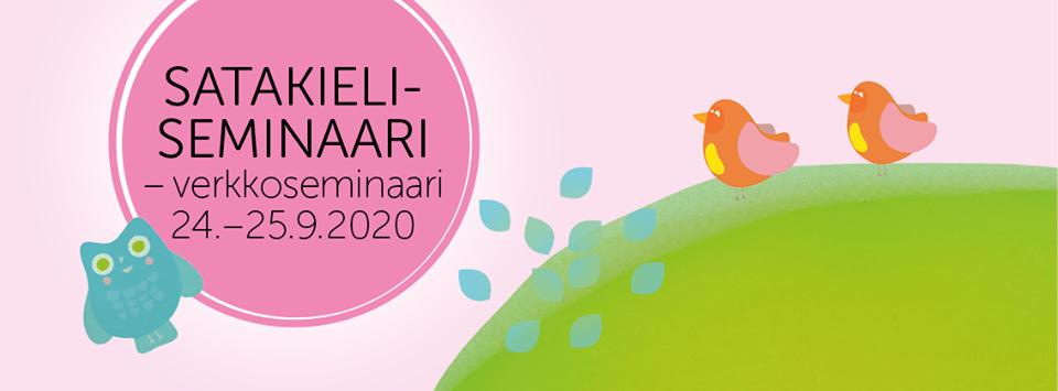 Satakieliseminaari 24.-25.9.2020