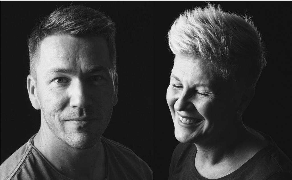 Vasemmalla kuvassa ohjaava opettaja Matti Salmela ja oikealla ohjaava opettaja Katri Rinne.